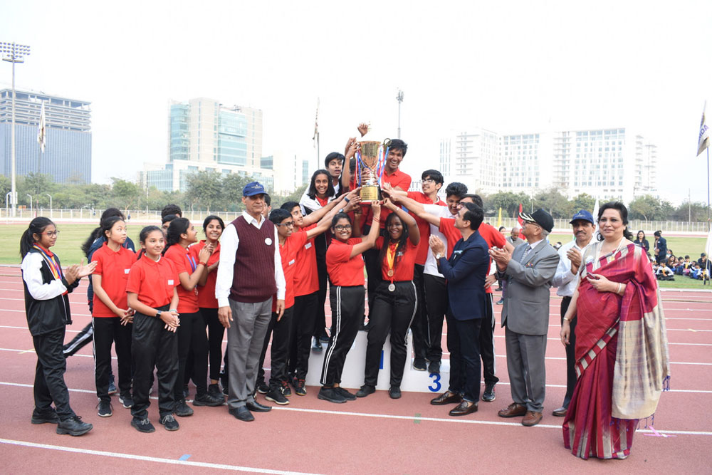 Talent wins games, but teamwork wins championships: Laurels won by the Champions at AGS