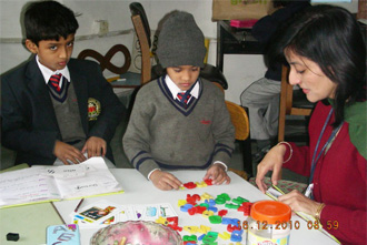 Activities are performed to explain concepts