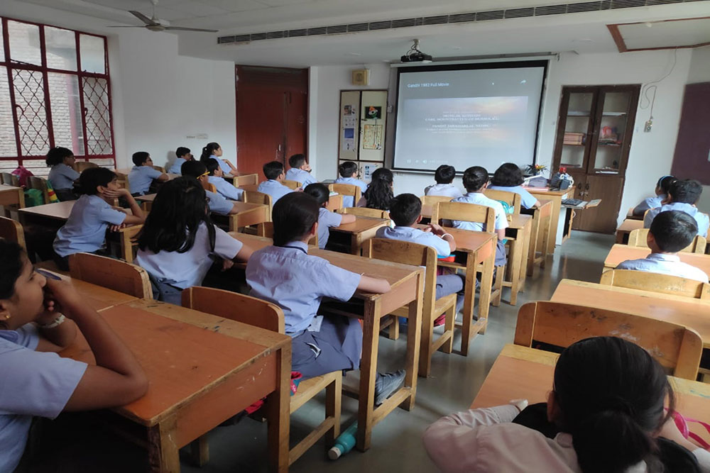 Middle wing Smart classes