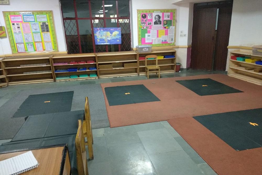 Montessori Room Activity